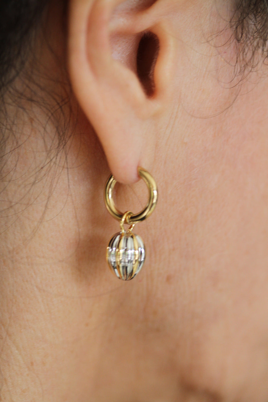 Gold Nights Ear Charms