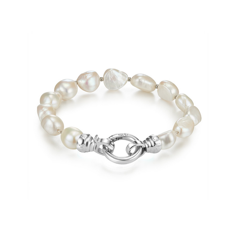 Baroque Pearl Bracelet - Medium (4573574987862)