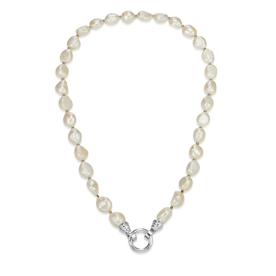 Baroque Pearl Necklace 49cm