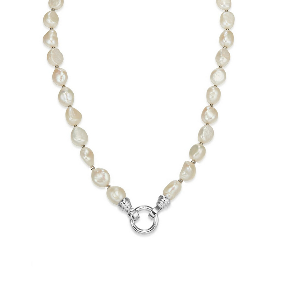 Baroque Pearl Necklace 49cm (4573574856790)