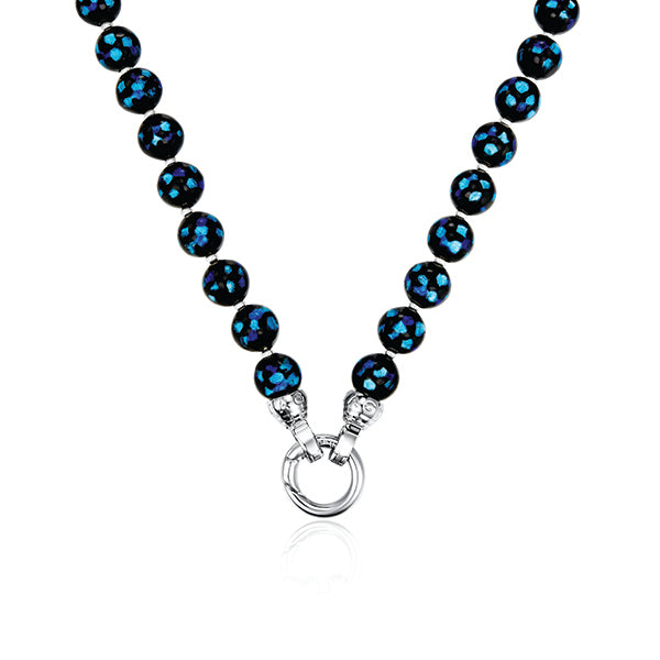 Last one Left! Blue Danube Necklace 49cm
