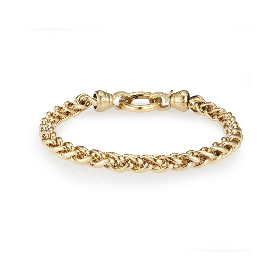 Gold Helix Bracelet Small