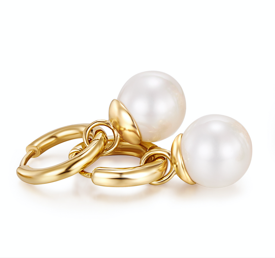 Gold Pearl Drops (3926680240214)