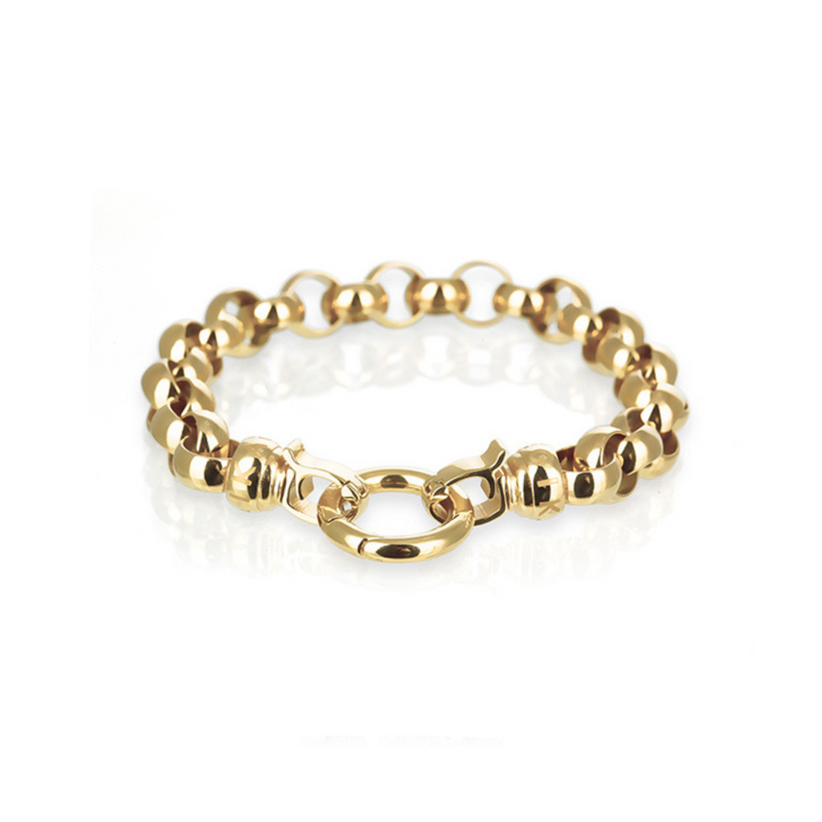 Gold Steel Me Bracelet Small