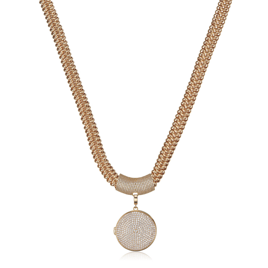 Gold Xena Necklace 49cm