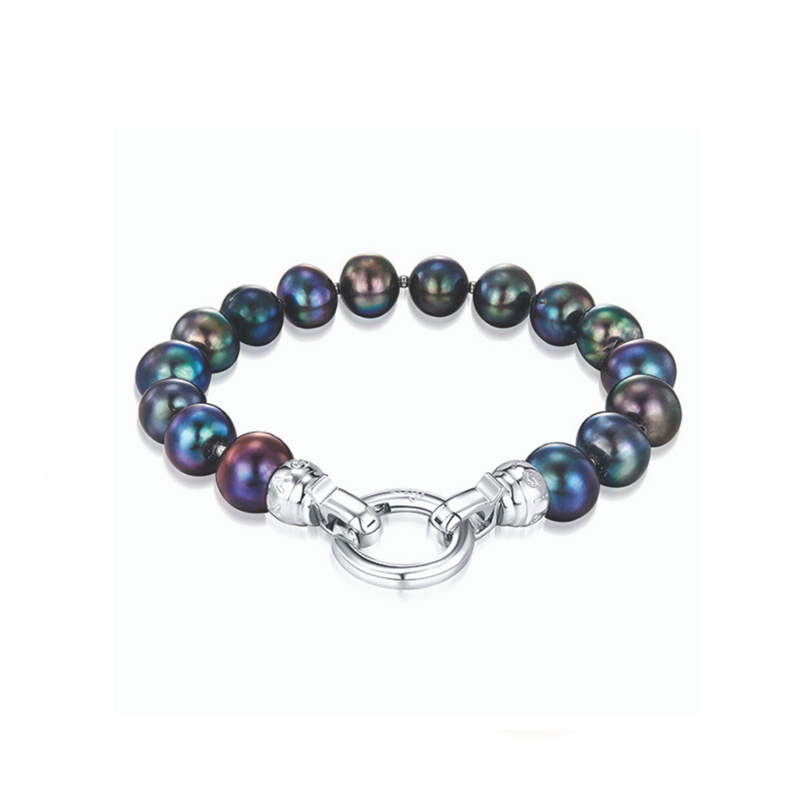 Kagi Peacock Pearl Bracelet Medium* (3956270071894)