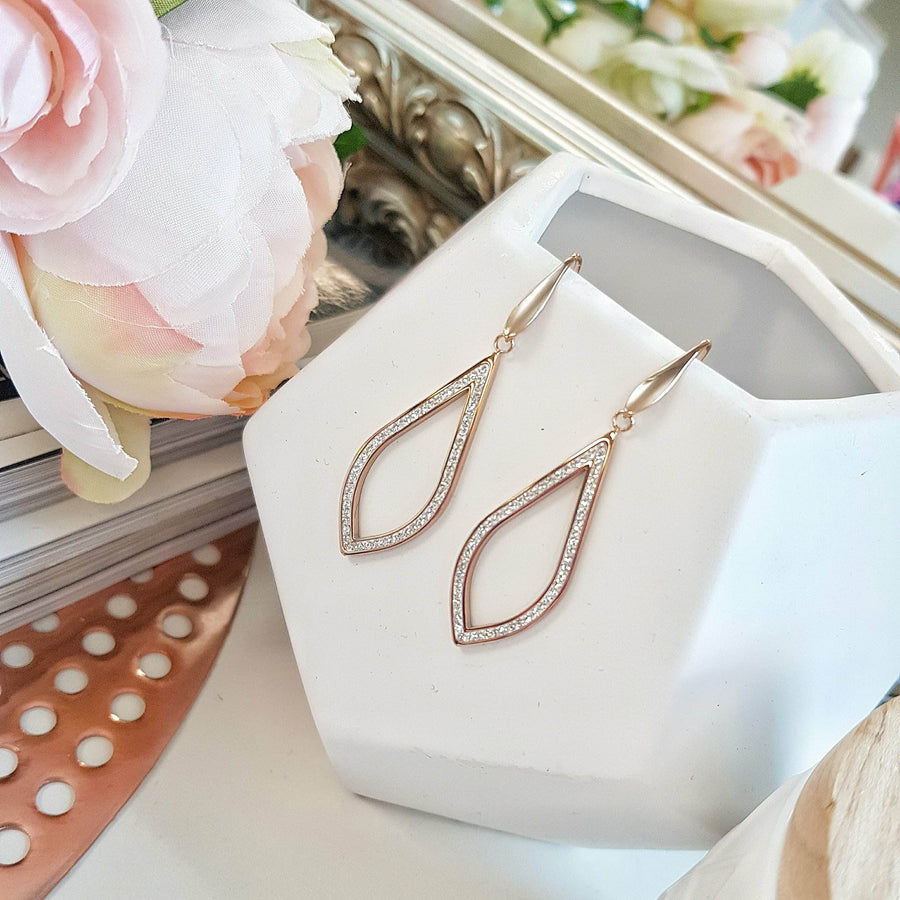 Rose Gold Elyssian Earrings