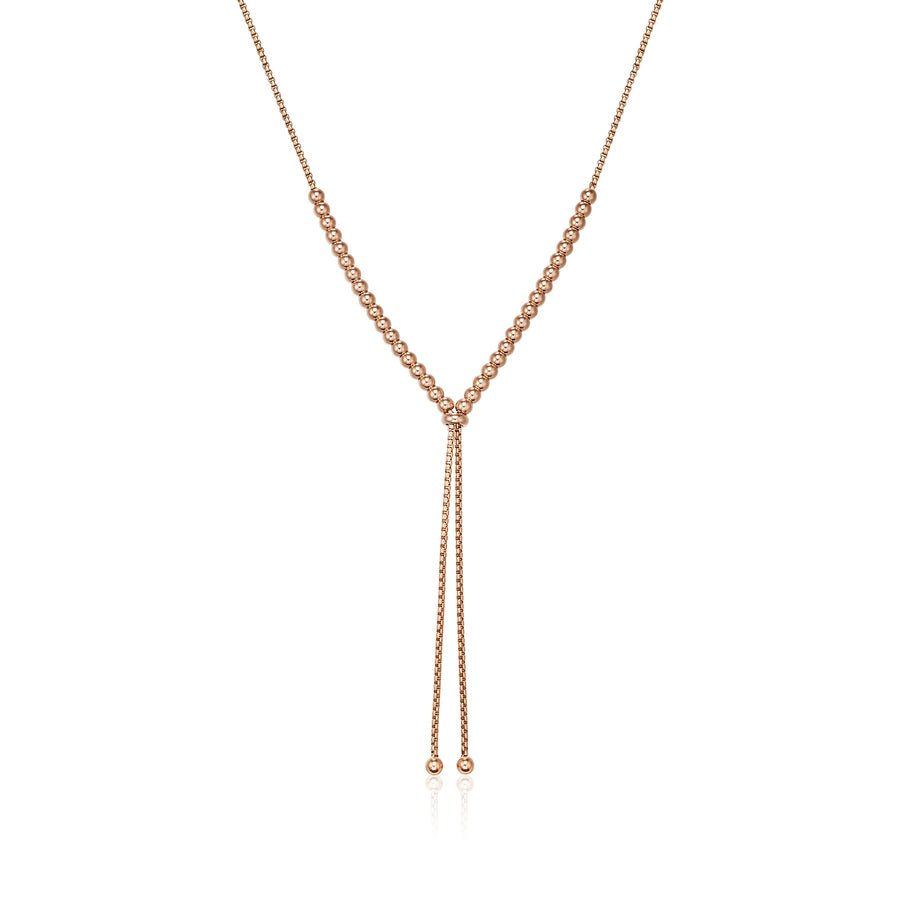 Rose Gold Bolero Necklace