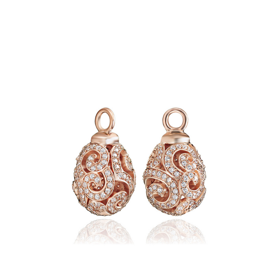 Rose Gold Imperial Ear Charms