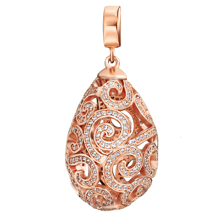 Rose Gold Imperial Pendant