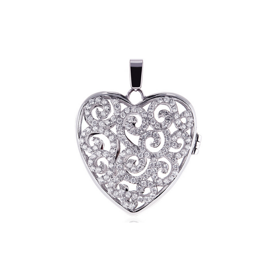 Splendor Heart Locket* (4458904846422)