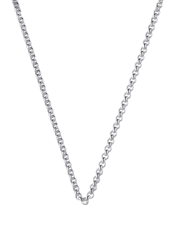 Silver Steel Me Petite Necklace 80cm