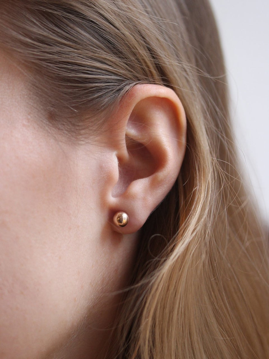 Rose Bubble Studs (3926684237910)