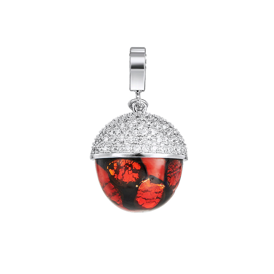 Red Velvet Drop Pendant*