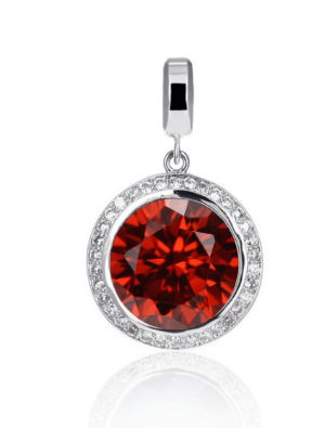 Limited Edition! Poppy Red Orbit Pendant - Large