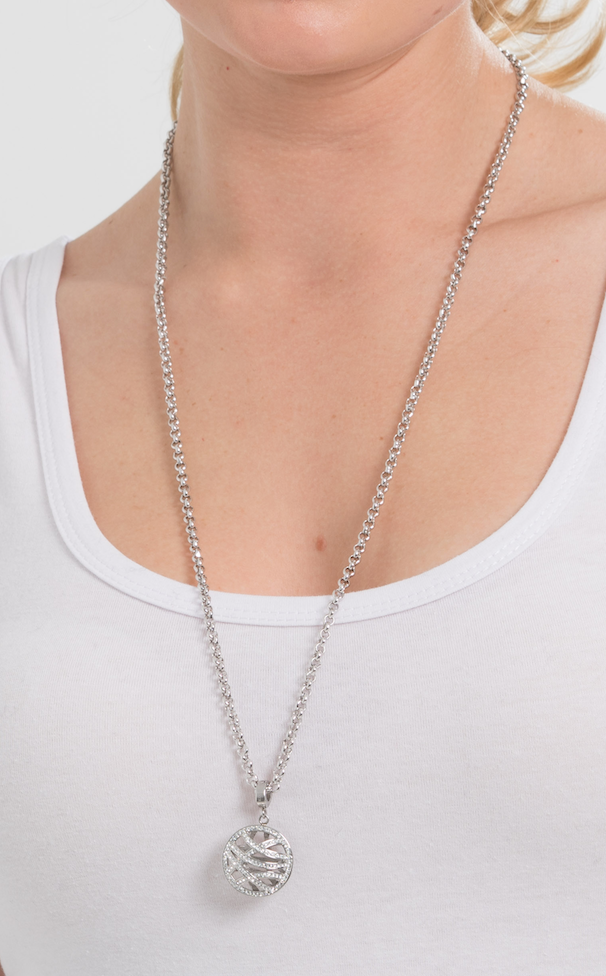Steel Me Petite 80cm Necklace