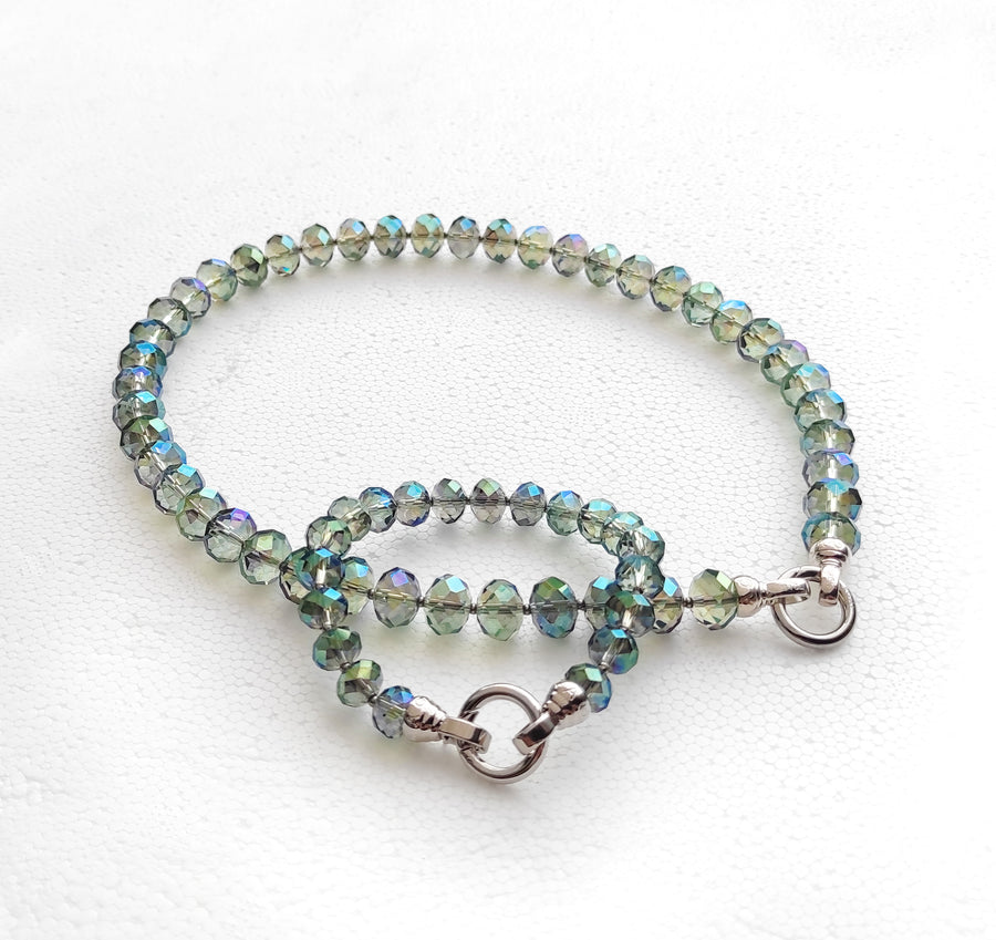 DAY 1! Kagi Sea Green 49cm Necklace & Bracelet Combo (4981156479062)