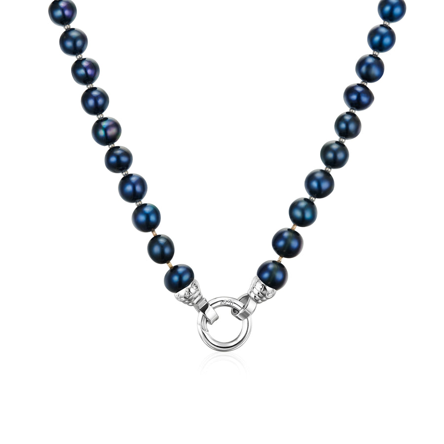 Blue Lagoon Pearl Necklace 49cm