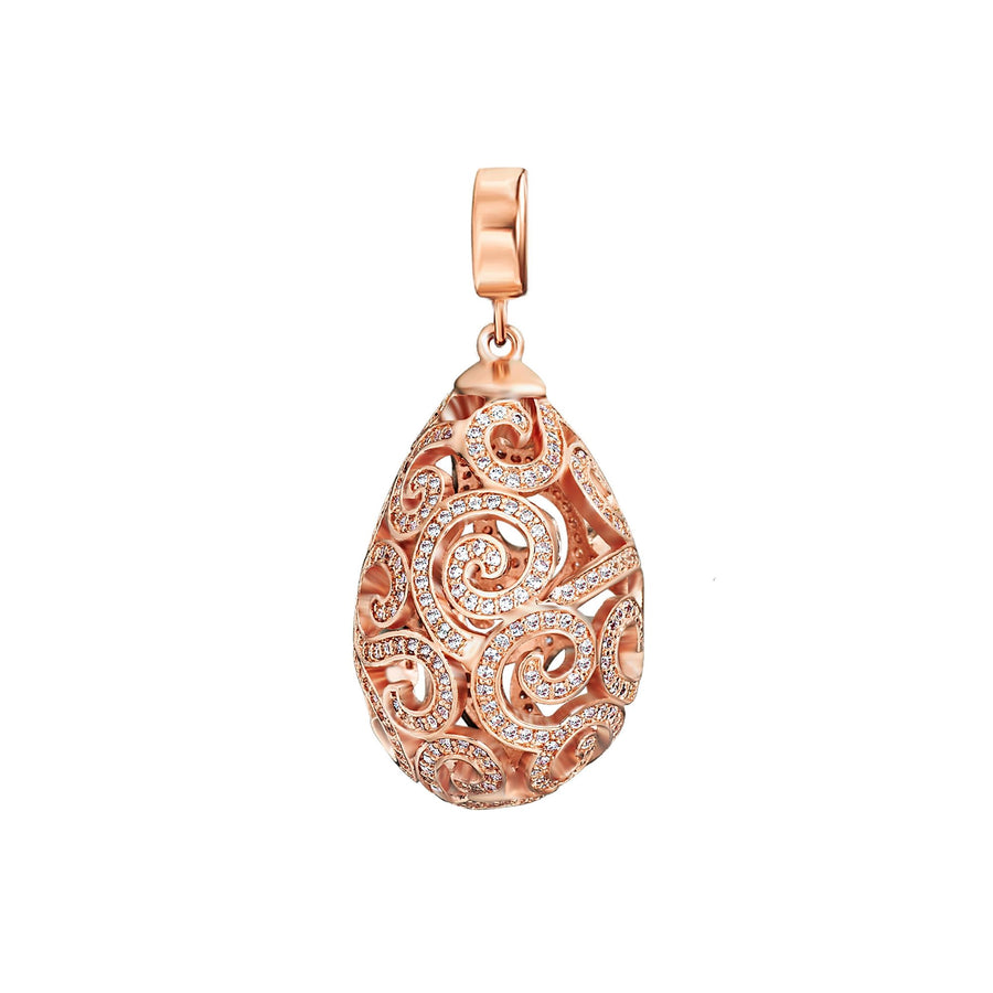 Rose Gold Imperial Pendant (3926665920598)