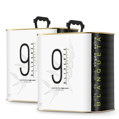 9 Oliveres | Blanqueta | 2 x 2.5L | ¡Limited Offer!