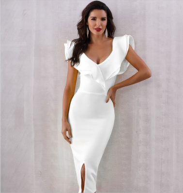 Off Shoulder Dress with Tear Free - Desire Lust Sex LoveHoney