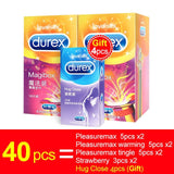 Durex Magibox Condom XXL 56MM Ultra Thin Super Sensitivity Sex Free - Desire Lust Sex LoveHoney