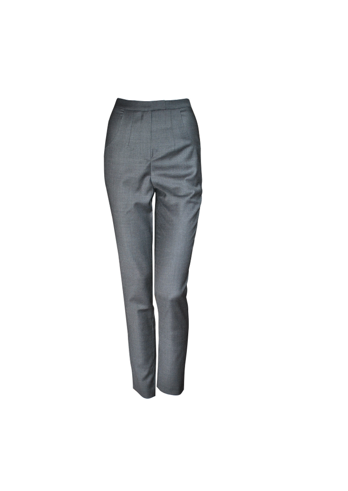 Cigarette Pants - Grey
