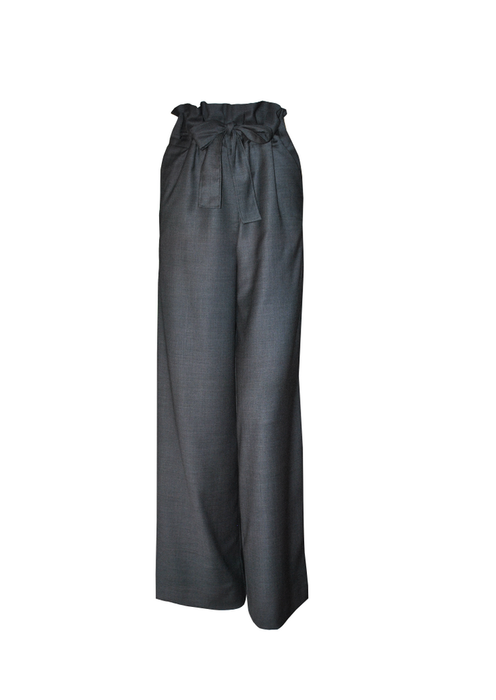 Paperbag Pants - Grey