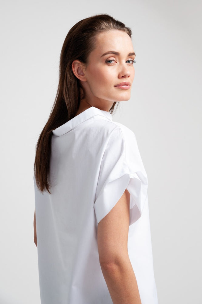 MELBA Blouse - Percale White