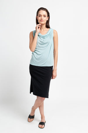 MAYA Top aus Tencel - Mint