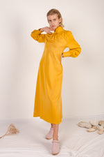 FILIPA Tencel Dress - curcuma