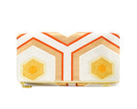 Honey Bee - Handmade Foldover Clutch Purse