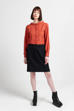MAE BLOUSE Tencel - Rust