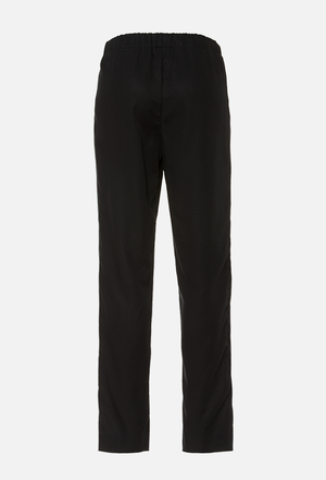 NELLIE Trousers aus Tencel - Black