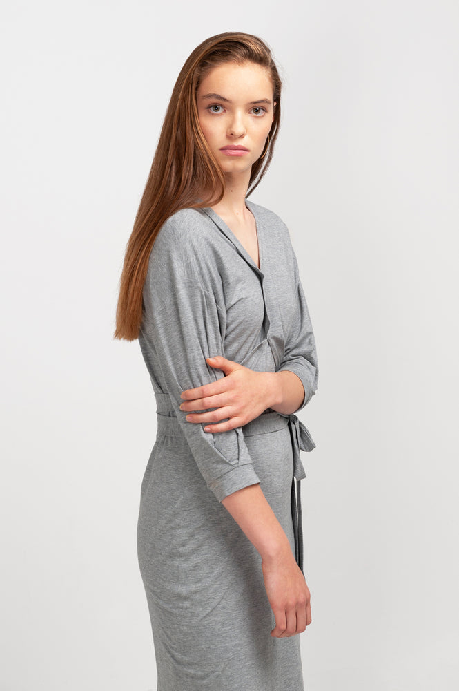 LAILA Dress SeaCell dusty grey