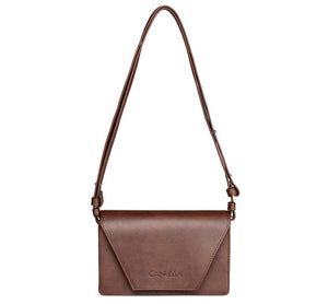 Vegan Hybrid Bag - dark brown