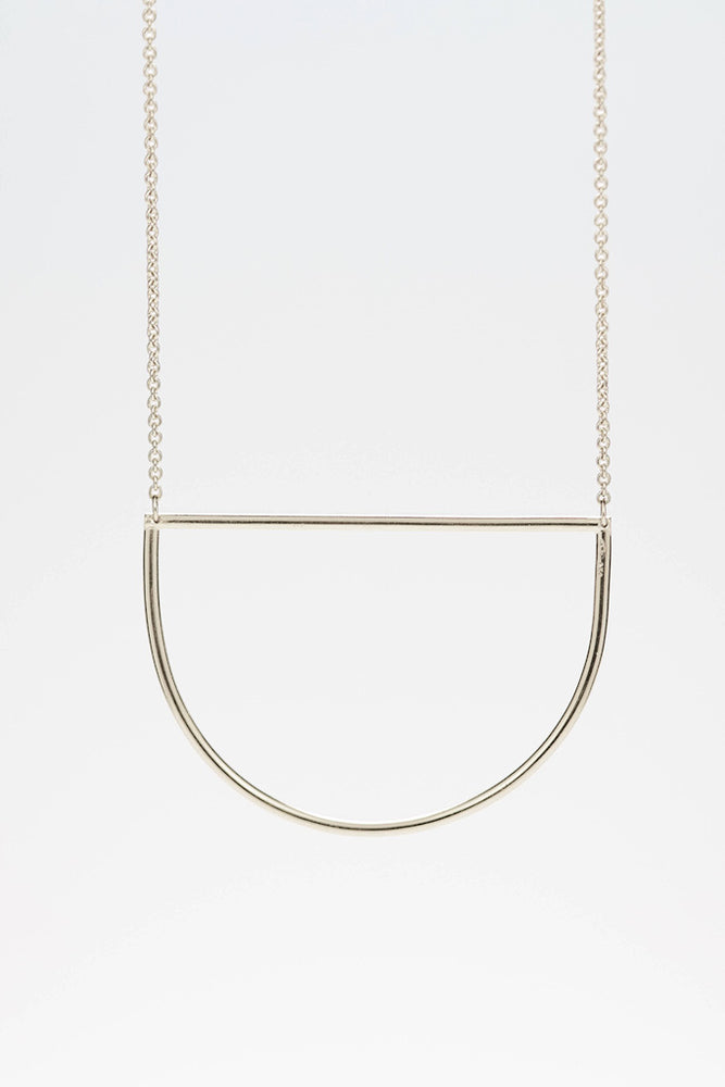 Circles Necklace - Silber