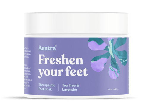 Lavender & Tea Tree Foot Soak