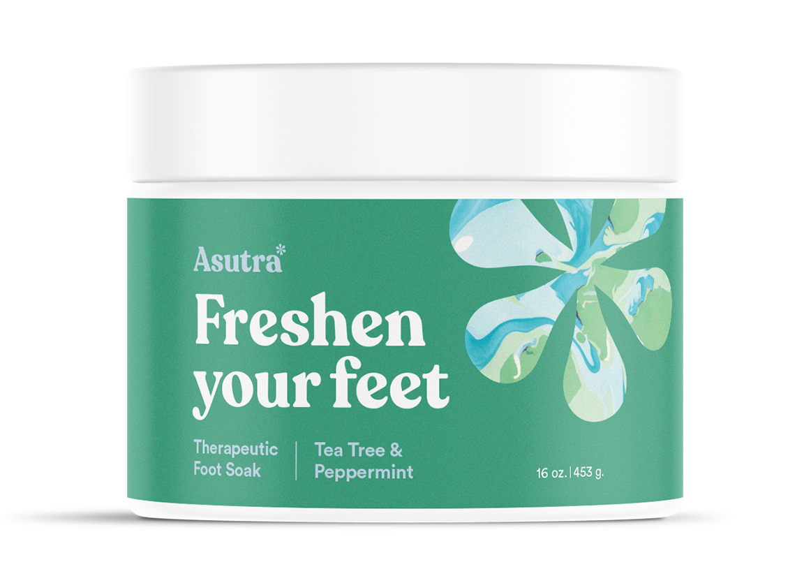 Peppermint & Tea Tree Foot Soak