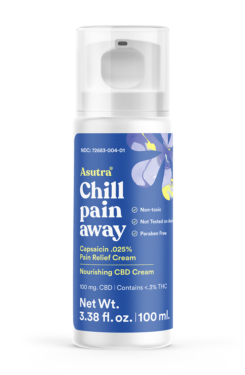 Chill Pain Away Magnesium Hemp Cream