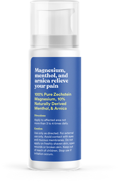 Relieve Your Pain Magnesium Menthol Lotion
