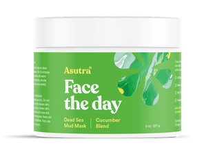 Asutra Dead Sea mud mask cucumber