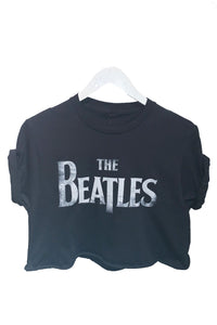 Beatles Sgt Pepper Cropped Tee