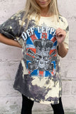 Def Leppard Crowned Skull T-shirt Dress