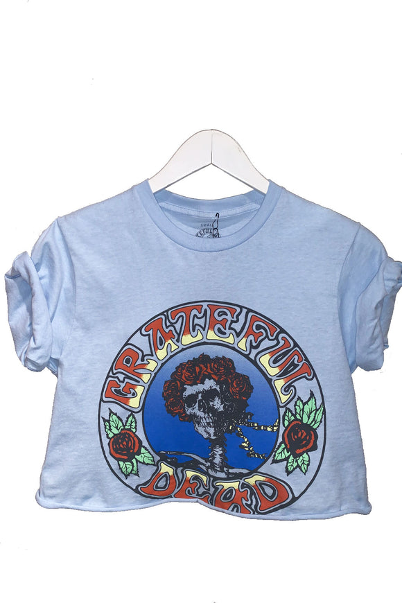 Grateful Dead Roses Cropped Tee