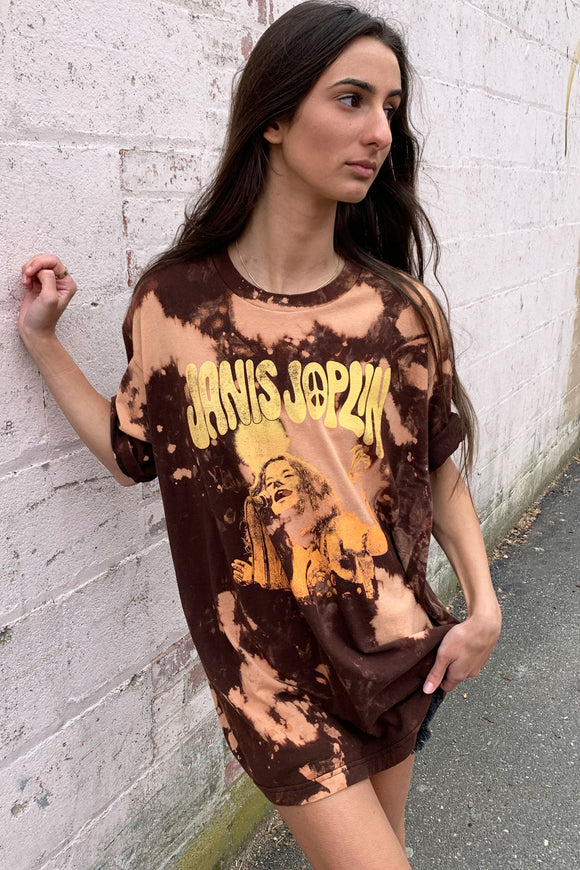 Janis Joplin Over-sized Tee
