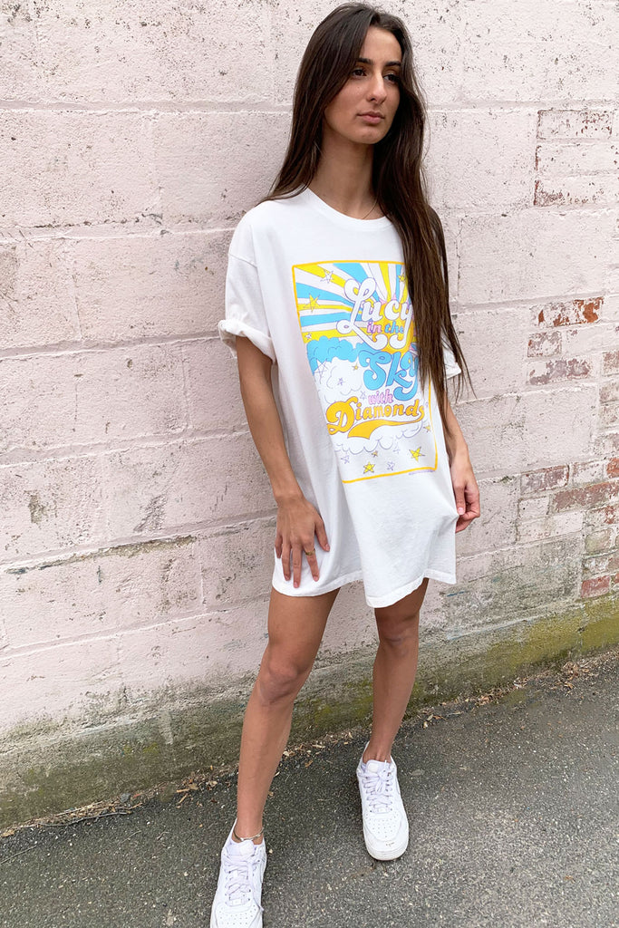Lucy In The Sky Over-sized Tee
