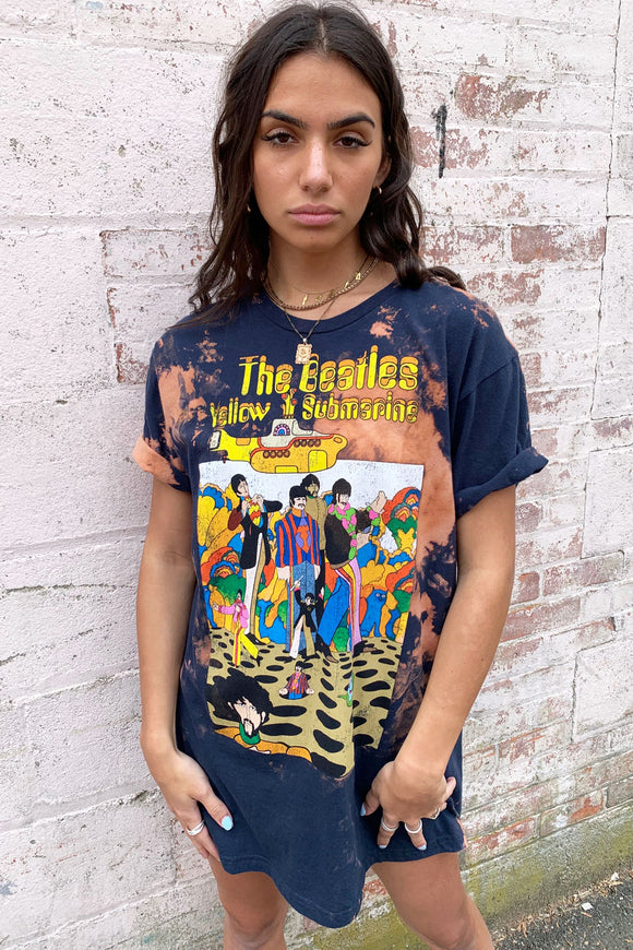 The Beatles Yellow Submarine Over-sized Tee