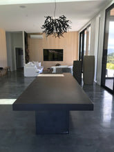 Load image into Gallery viewer, CONCRETE DINING TABLES RECTANGLE (GRC) 260cm & 290cm LENGTH x 110cm WIDTH