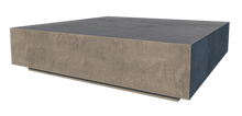Load image into Gallery viewer, CONCRETE COFFEE TABLE SQUARE 'LOW FLOATING' (GRC) 120cm x 30cm HEIGHT